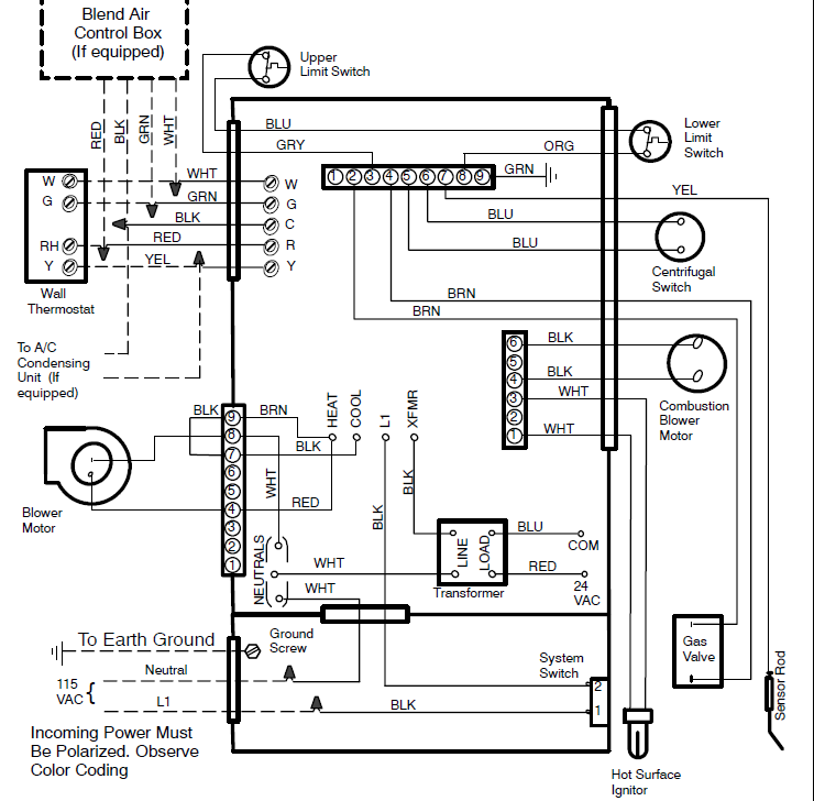 Evcon Ga Furnace Wiring Diagram
