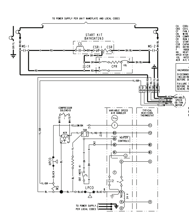 Trane Condenser Fan Motor Wiring Diagram from f01.justanswer.com