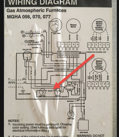 I have a intertherm MGHA-056ABFC-05 furnace. The vacuum fan control switch  keeps cutting out. The on line help indicatesJustAnswer