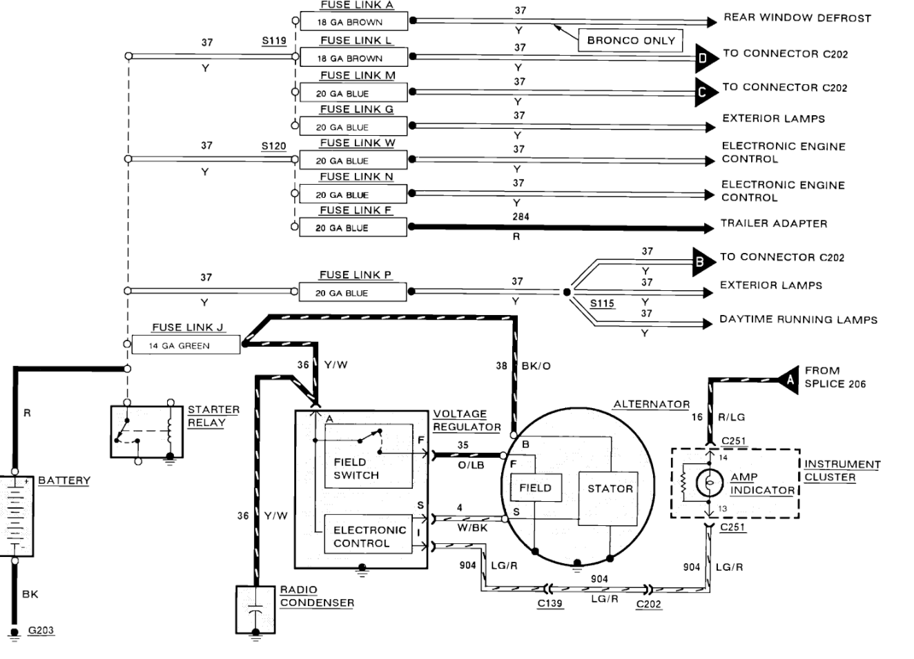 Diagram  1977 Ford F 150 Voltage Regulator Wiring Diagram