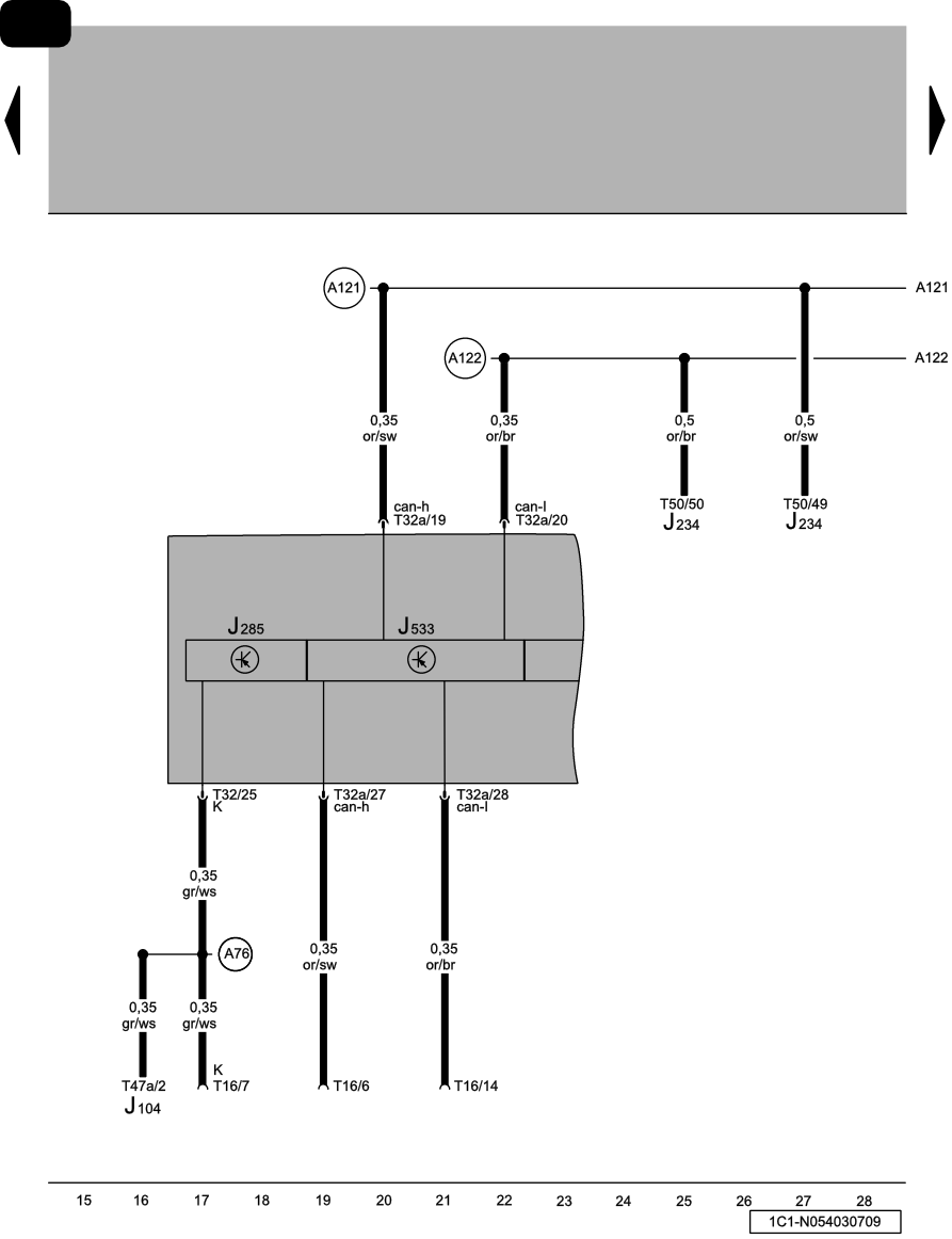Im Looking For Can Bus Wiring Diagram For A Vw Beetle 2003 Cabrio  I Have No Communication With
