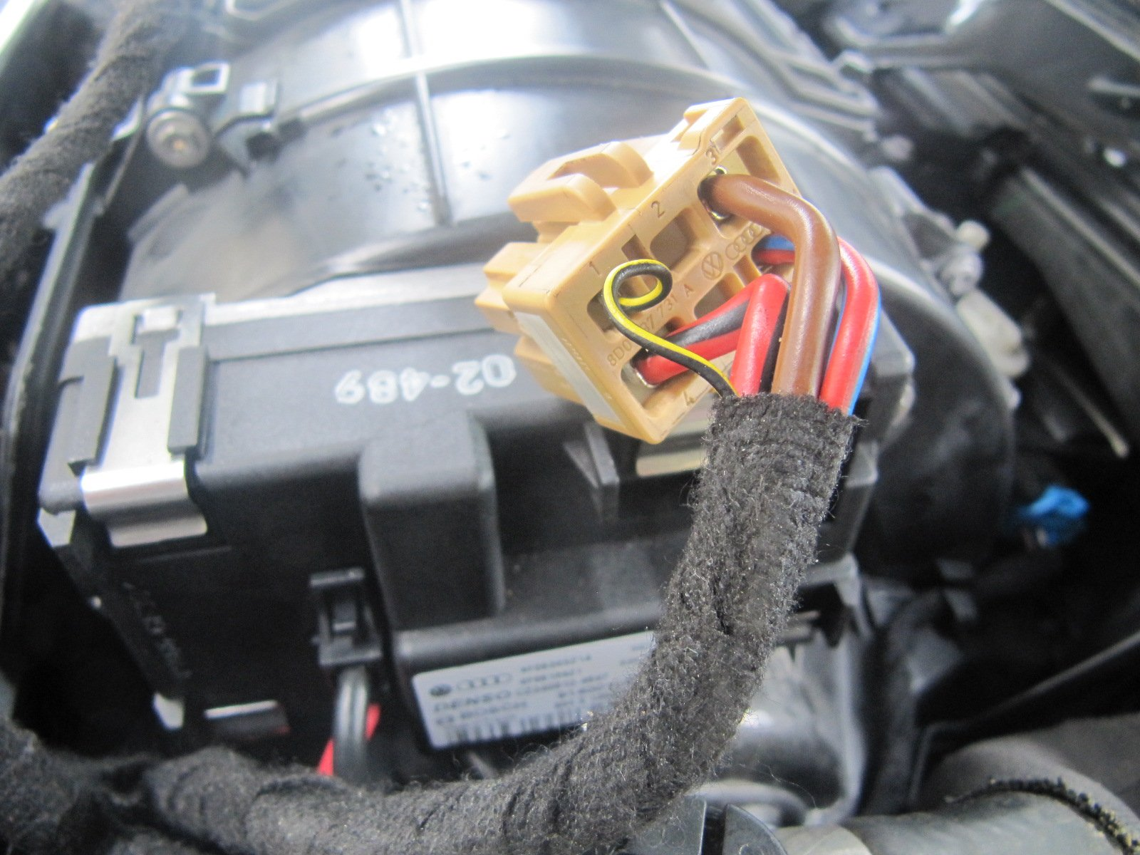 05 A6 32l Blower Problems Cant Figured It Out Whats The Problem Audi Fan Control Module Wiring Thanks For Your Help