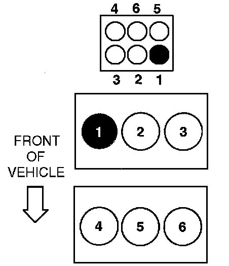 i have a 2003 mercury sable duratec 24v dohc v6 engine and need to  1999 mercury sable firing order diagram #7