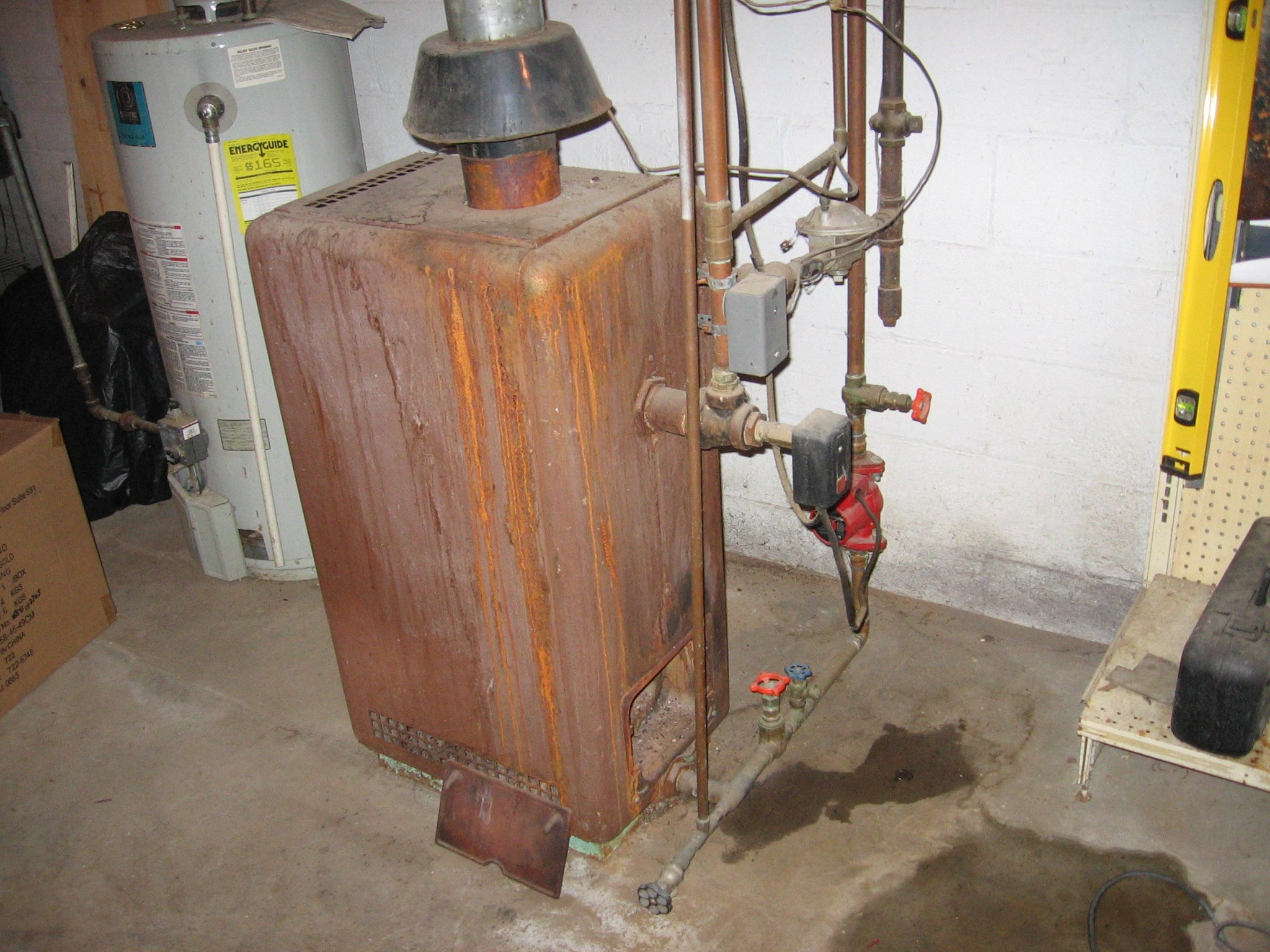 Radiator Not Getting Hot >> Facing problems with American Standard gas boiler.