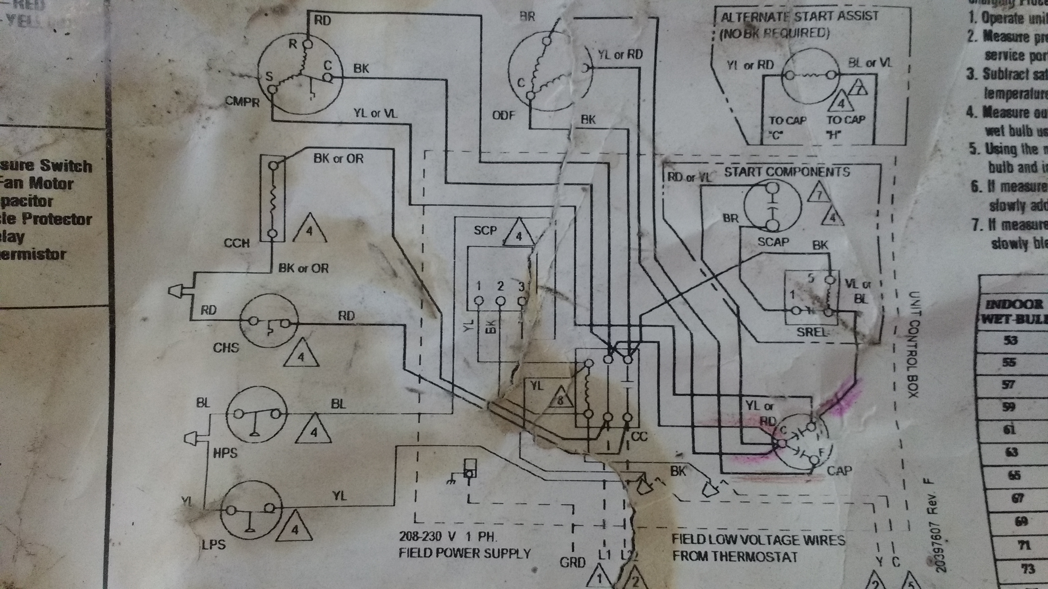 i just replaced my ducane ac unit capacitor and installed a  ducane wiring diagram #11