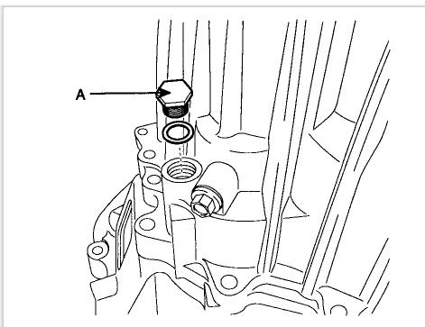 2007 Hyundai Elantra Manual Transmission Fluid Change Fill Hole I