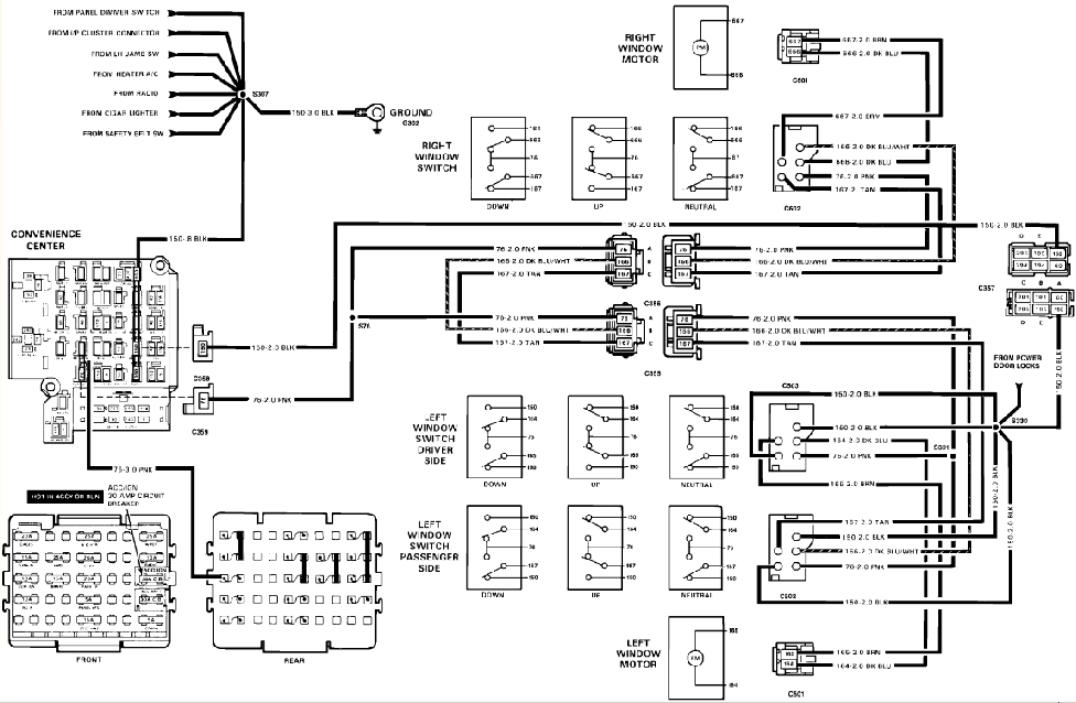 1991 chevy s 10 fuse panel diagram wiring 1989 chevy s 10 1989 chevy 1500 door lock wiring diagram - wiring diagram