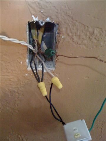 I have a new light switch I just hooked up. There are 3 sets of ...