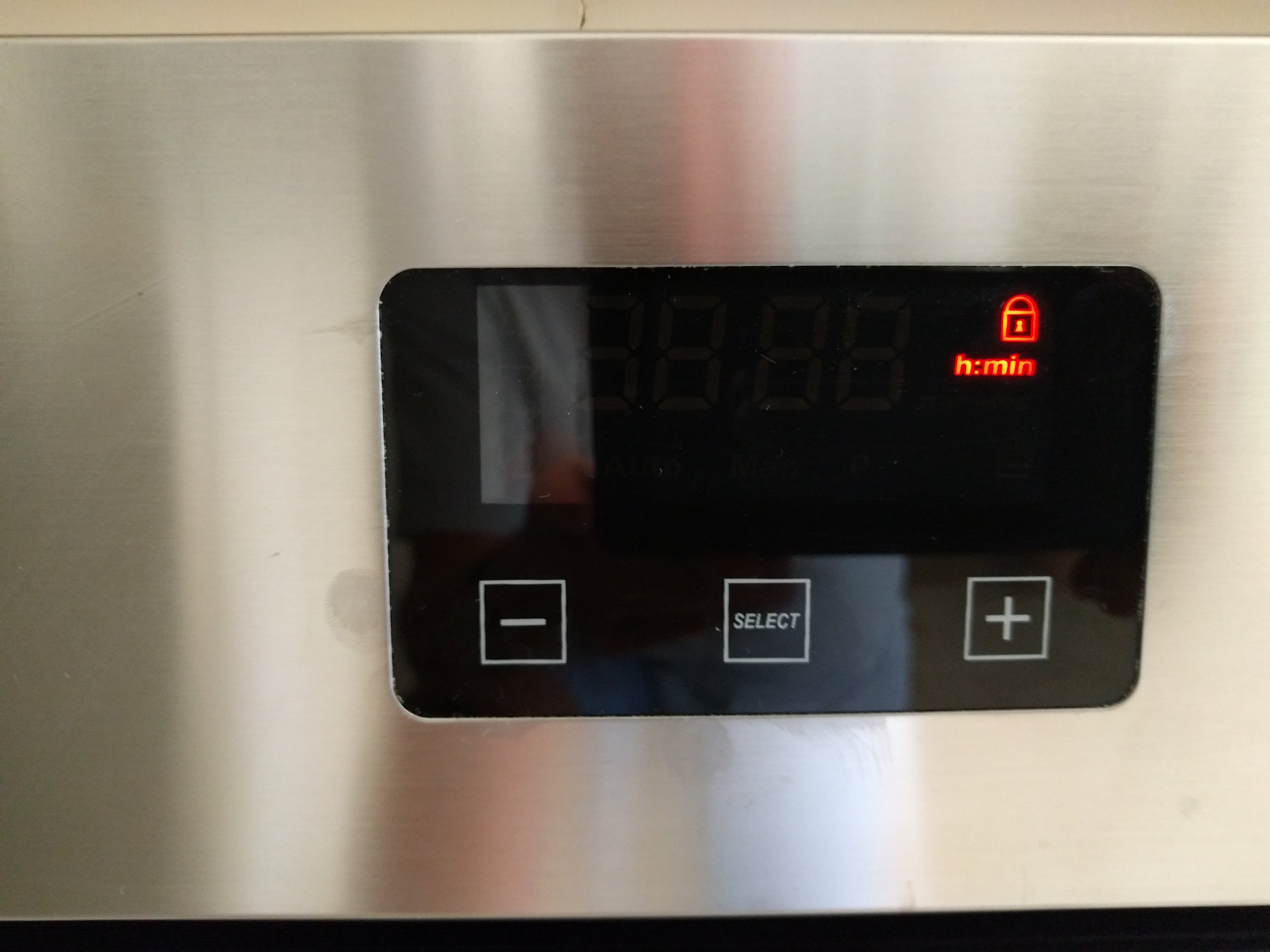 I Have A Nardi Fex07559 Oven The Child Lock Has Appeared And Even
