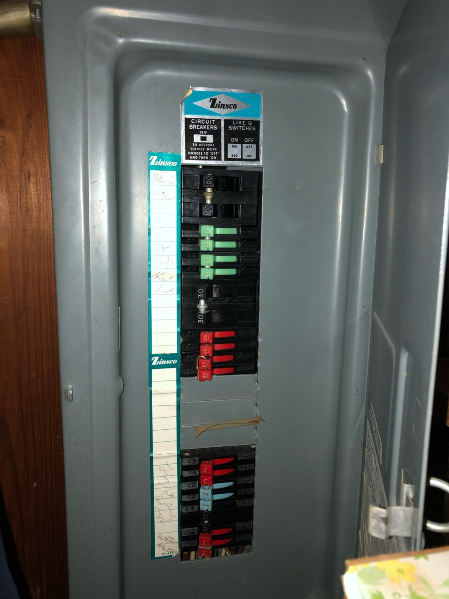 I Have An Zinsco Electrical Panel  100 Amps  The Breakers Have A Vertical Metal Bar On The Front