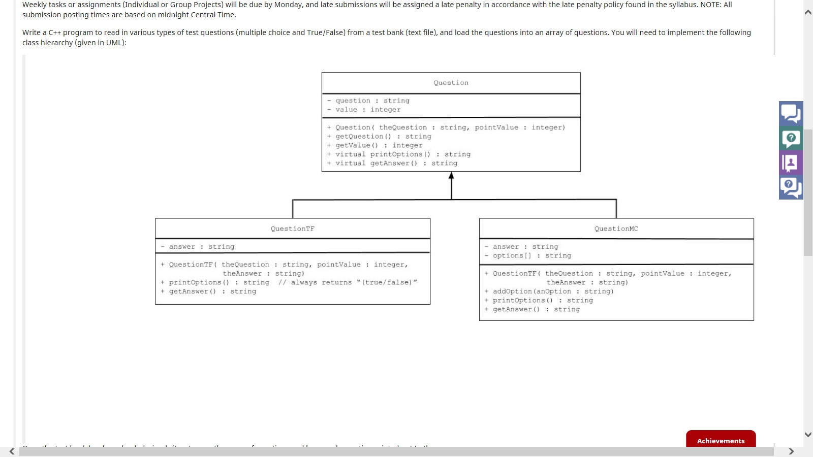Write a c program to read in various types of test questions ia2g ccuart Choice Image