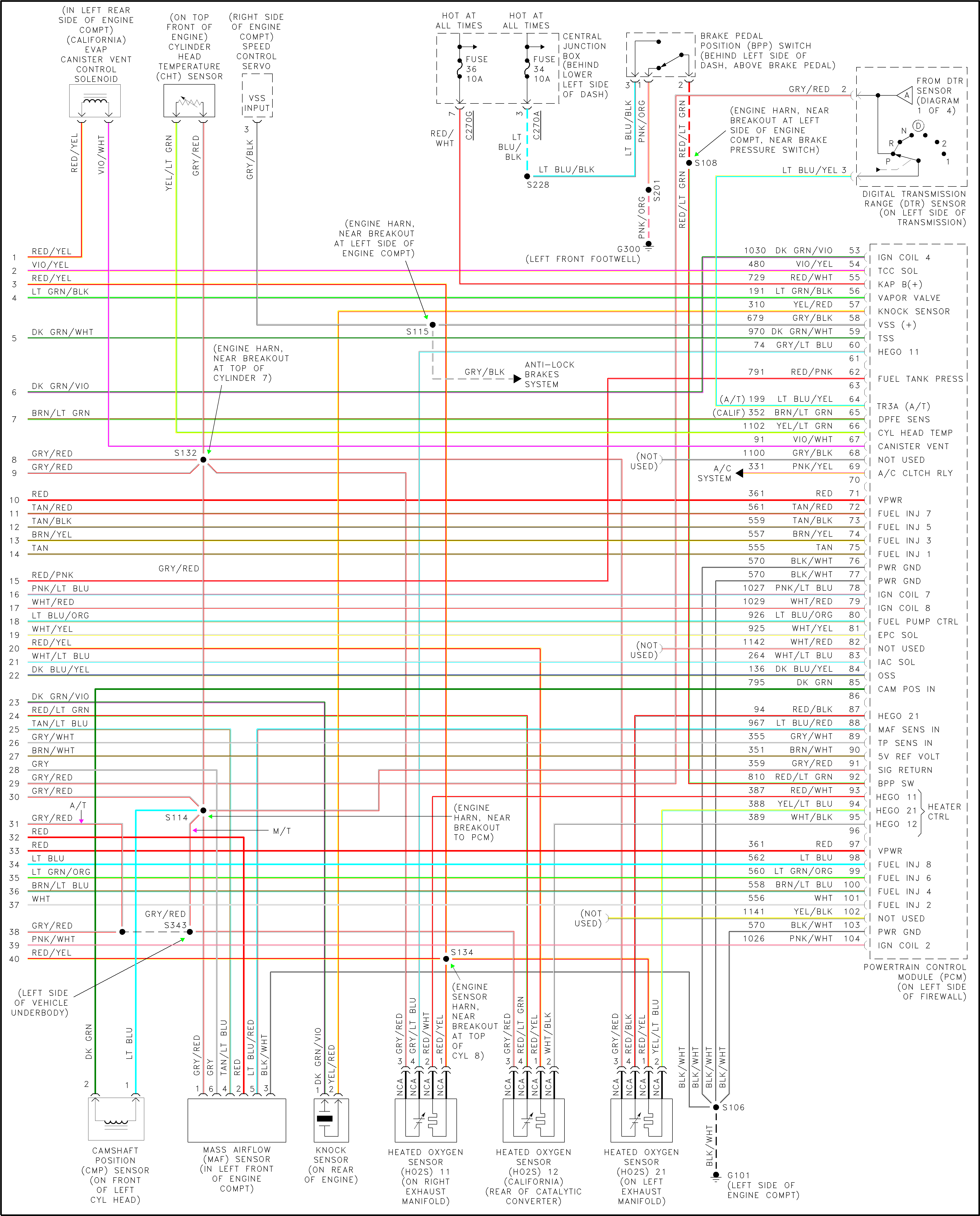 I Have A 2002 Ford F350 And I Need A Wiring Diagram For