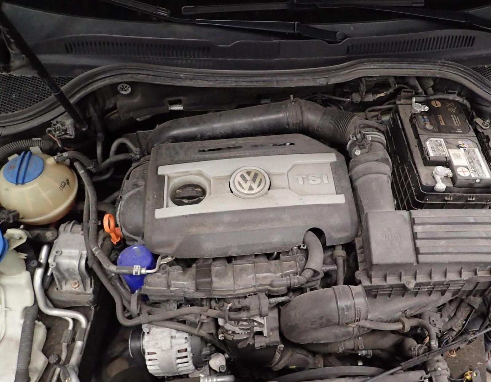I have a 2011 VW CC 2.0T. I can not locate the Crankshaft Position Sensor on my car.