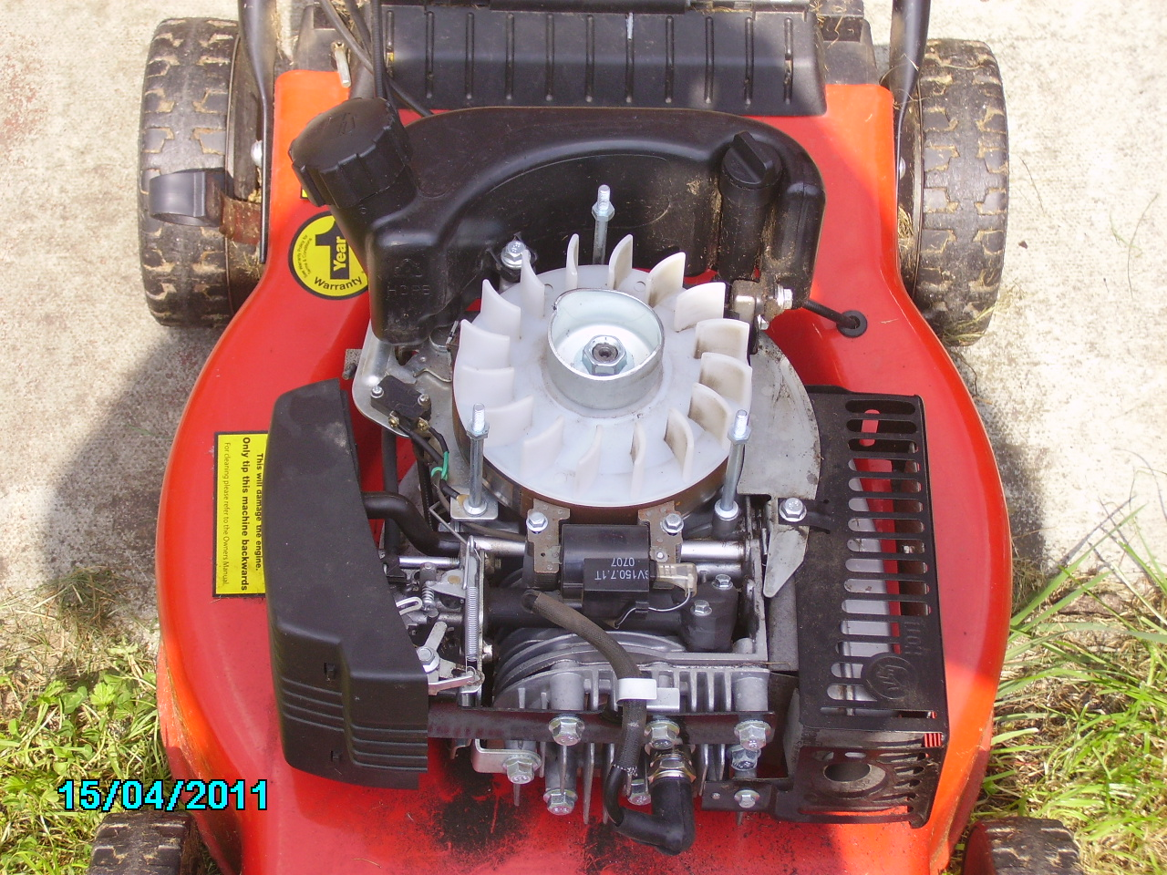 I Have A Homelite Petrol Mower Hl454hp And Cannot Start It Ive Lawn Wiring Diagram Graphic