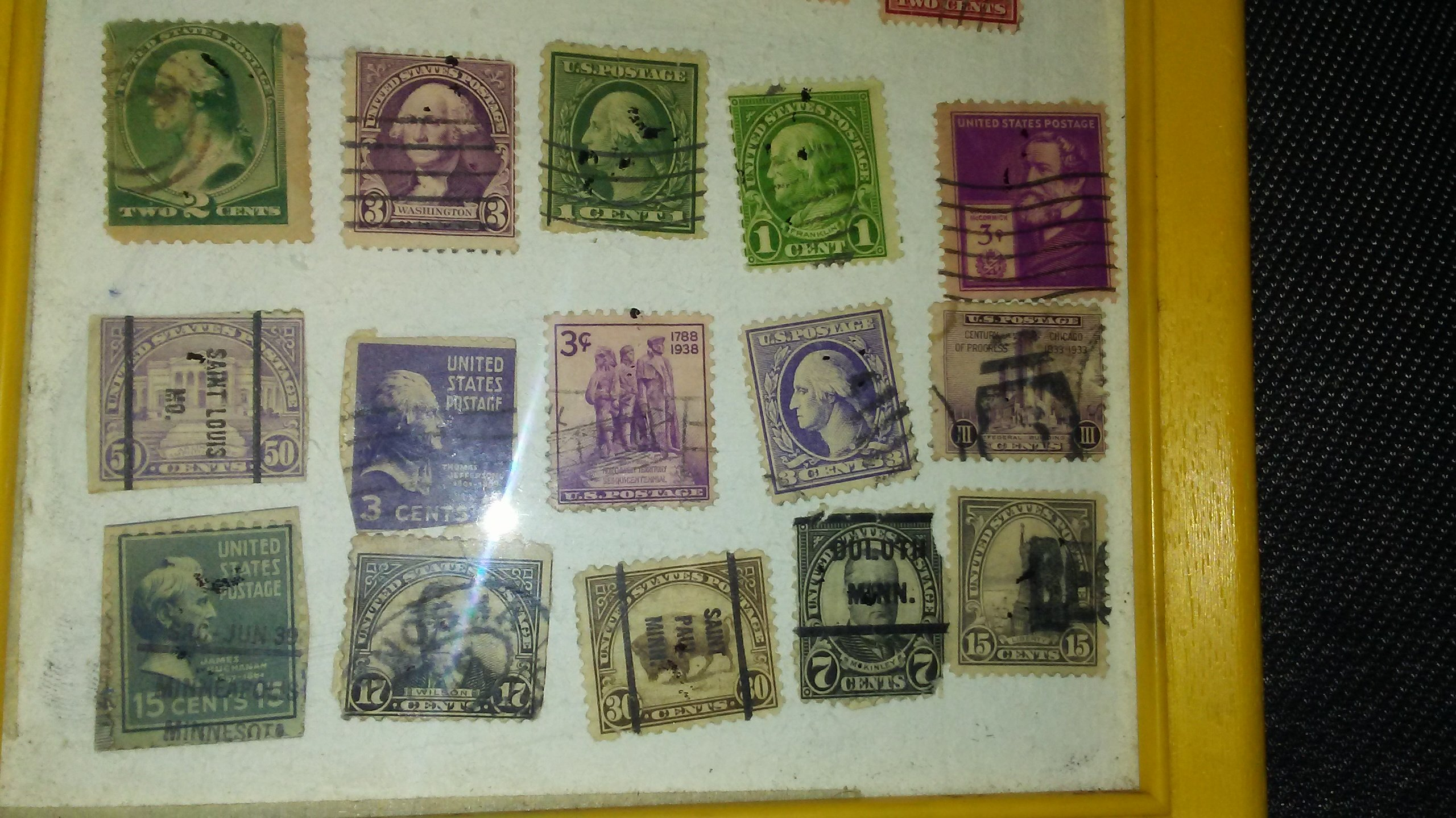 I Would Like To Know What My Stamps Are Worth Also Is It