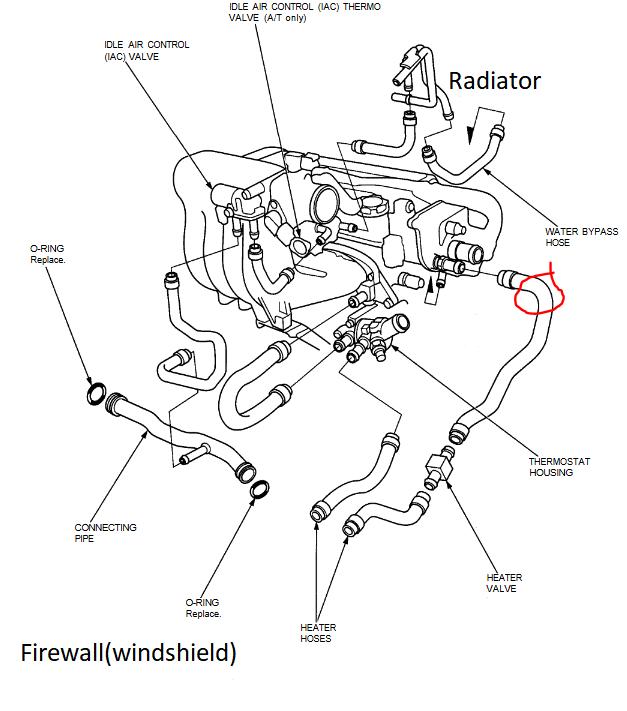 B18b1 Intake Vacuum Diagram