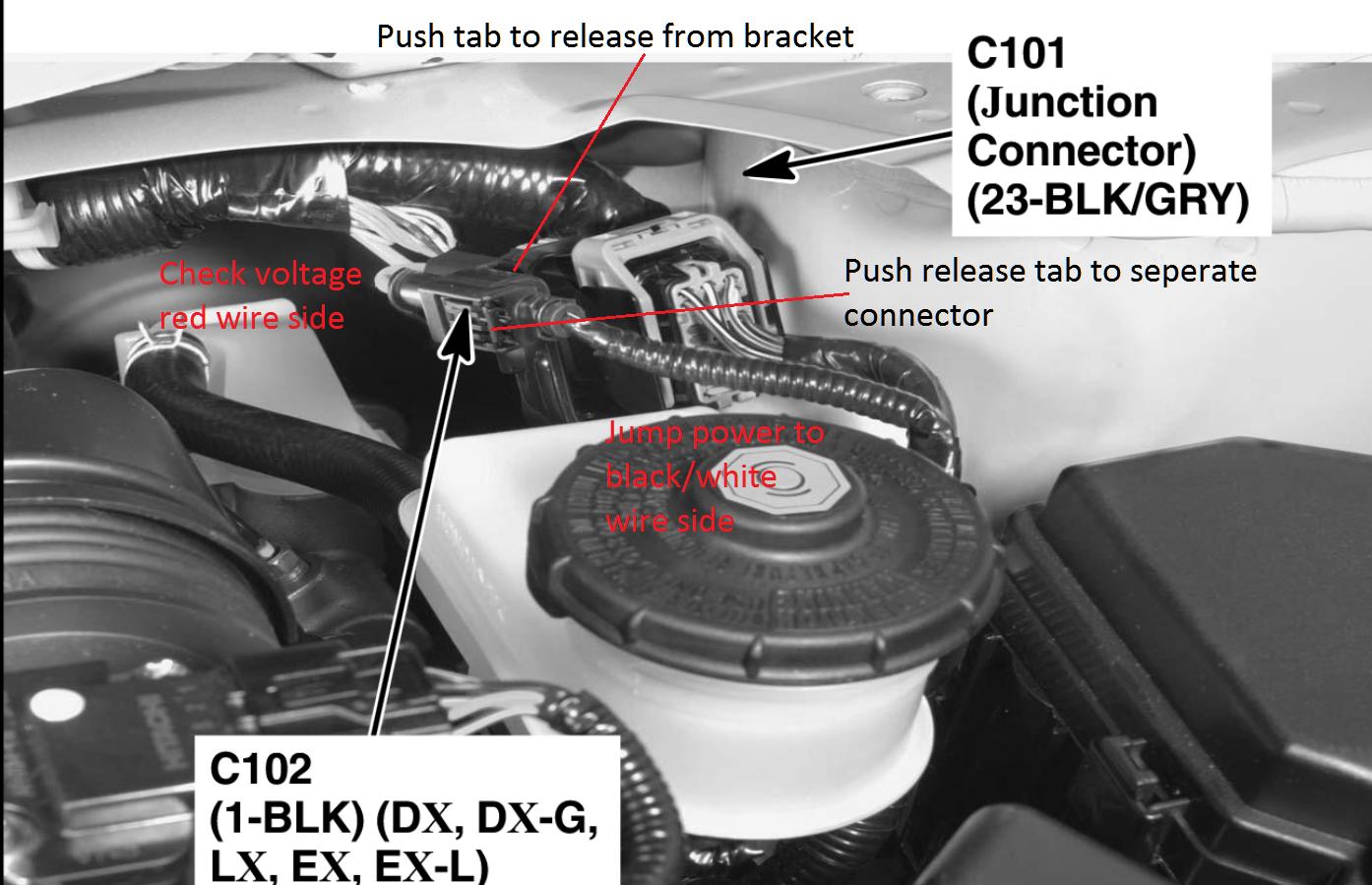 2008 Honda Civic Will Not Start  Battery Is Good  Starter