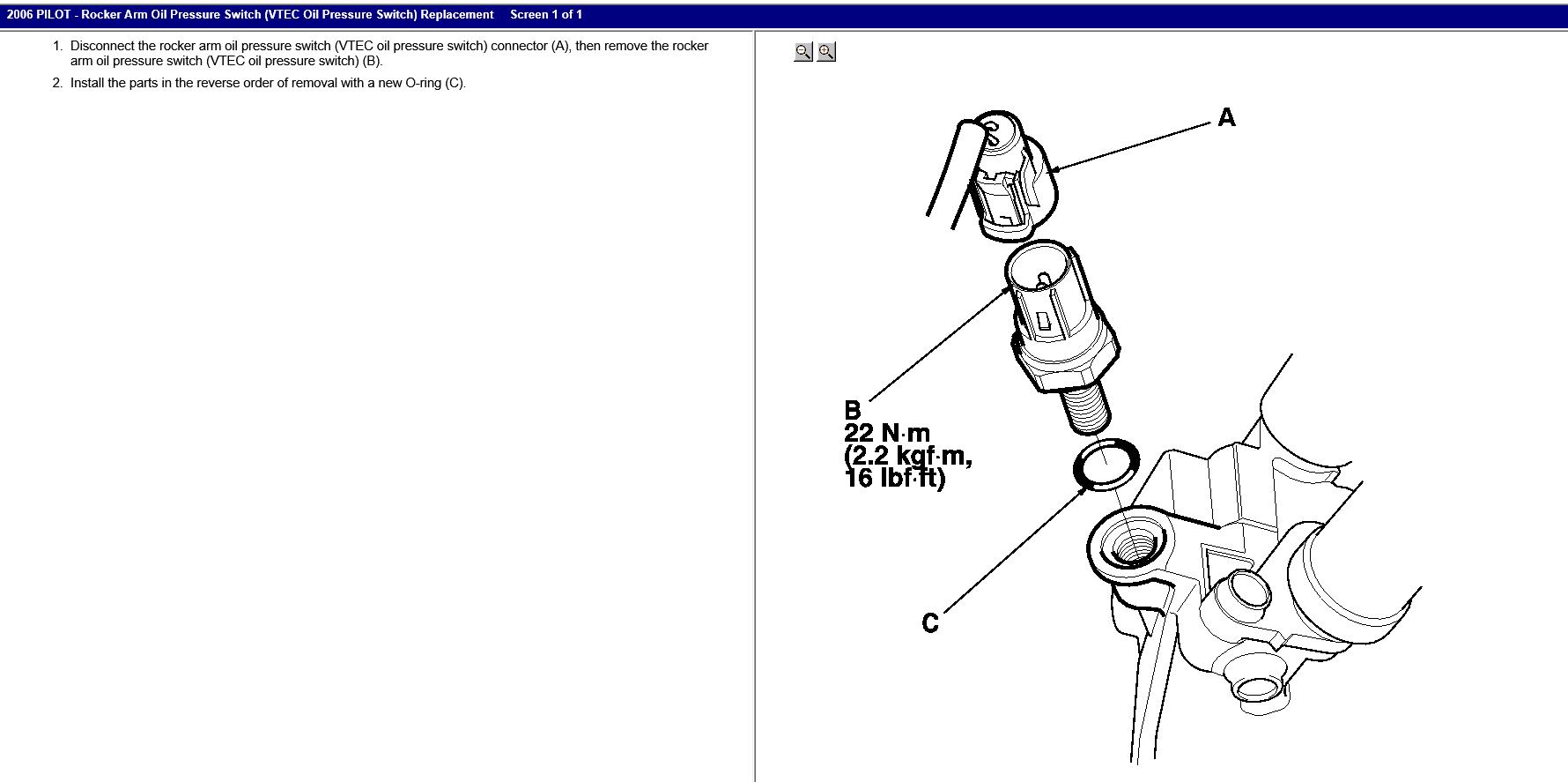 06hondapilotbeltdiagram Heard After Timing Belt Replacement