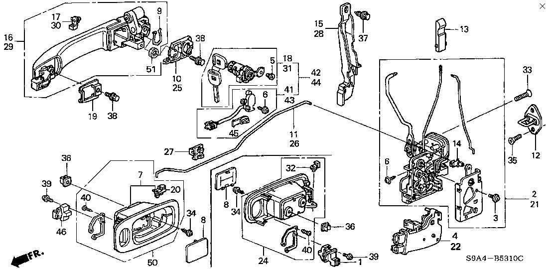 2002 Honda Crv Drivers Door Lock Won T Work Replaced Lock Mechanism And Actuator Can T Open Door From Inside When