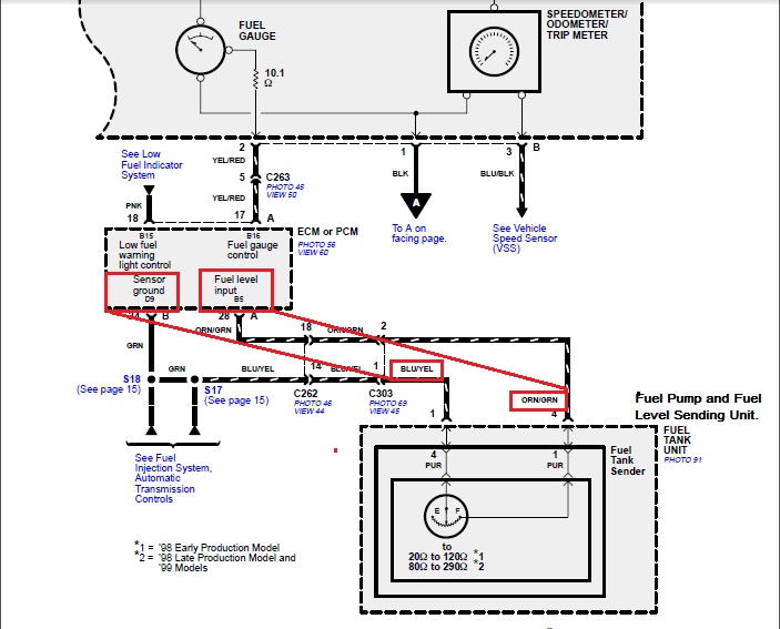 trying to install a delphi fuel pump in a 1999 honda passport v6 4x4 rh justanswer com Honda Passport Parts Diagram Honda Passport Engine Diagram
