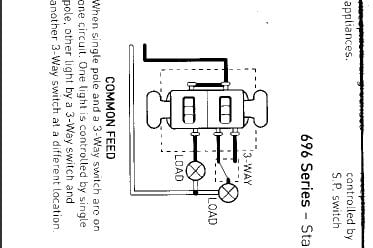 I have a P & Seymour 696 series switch that I am trying ... P Seymour Switches Wiring Diagram on wiring a switch from a switch, three way switches diagram, electrical switches diagram, electrical outlets diagram, switch diagram, three prong power cord diagram,