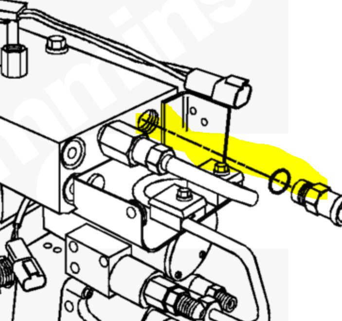 Do You Know On A 8 3 Cummins Where The Fuel Temp Sensor Is 45902873