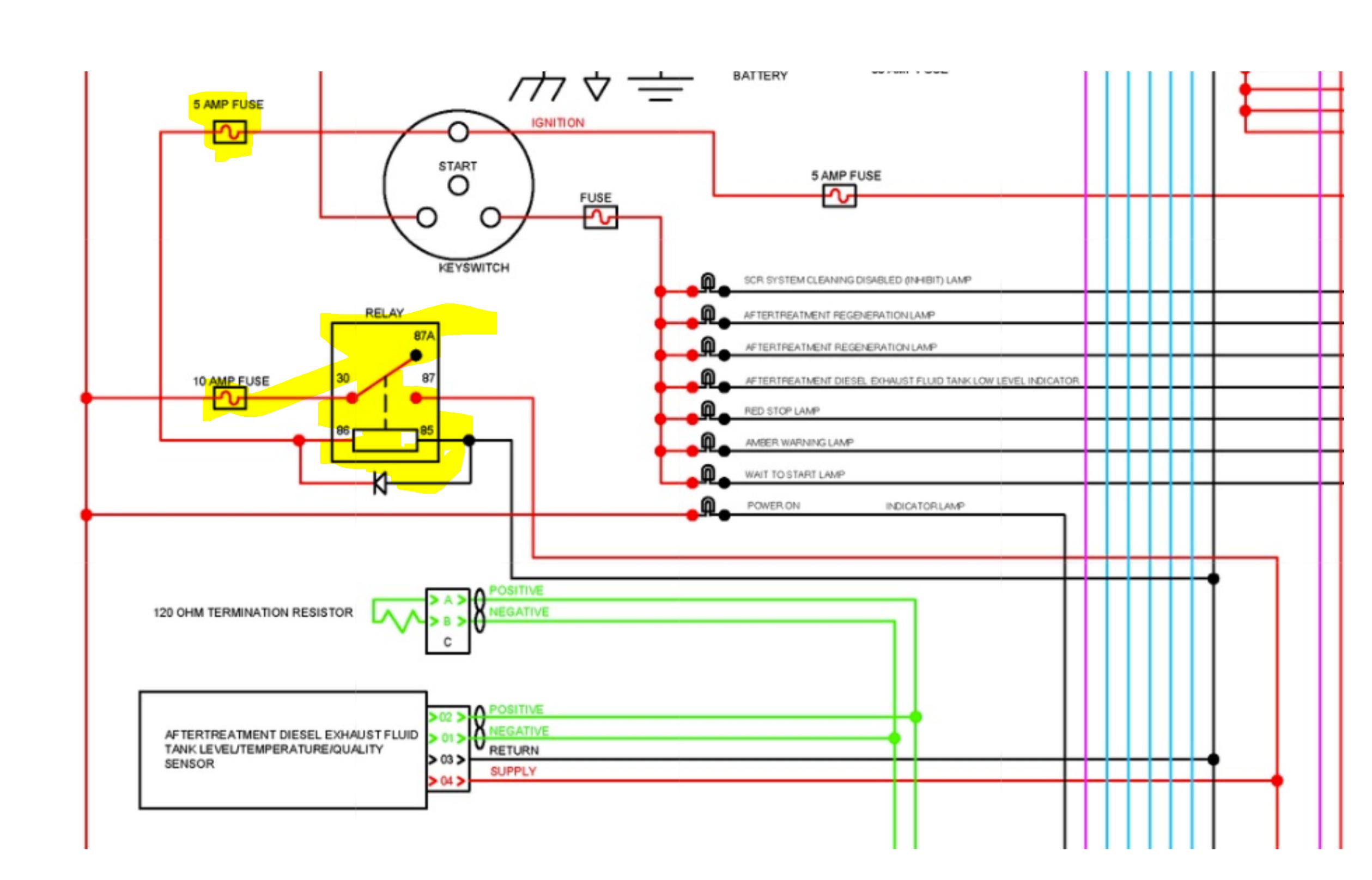 [DIAGRAM_38ZD]  9 active codes on qsb 6.7 Cummins. Kalmar Ottawa t2. Manual regen was  stopped midway | Ottawa Fuse Box |  | JustAnswer