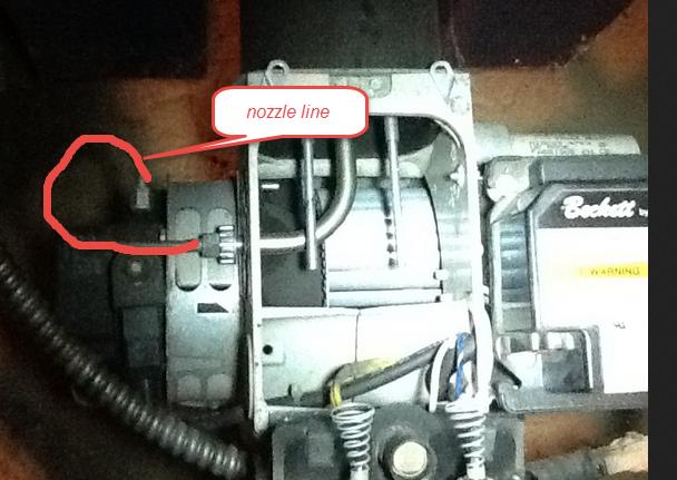 Oil furnace won't start  Reset light blinking but when I