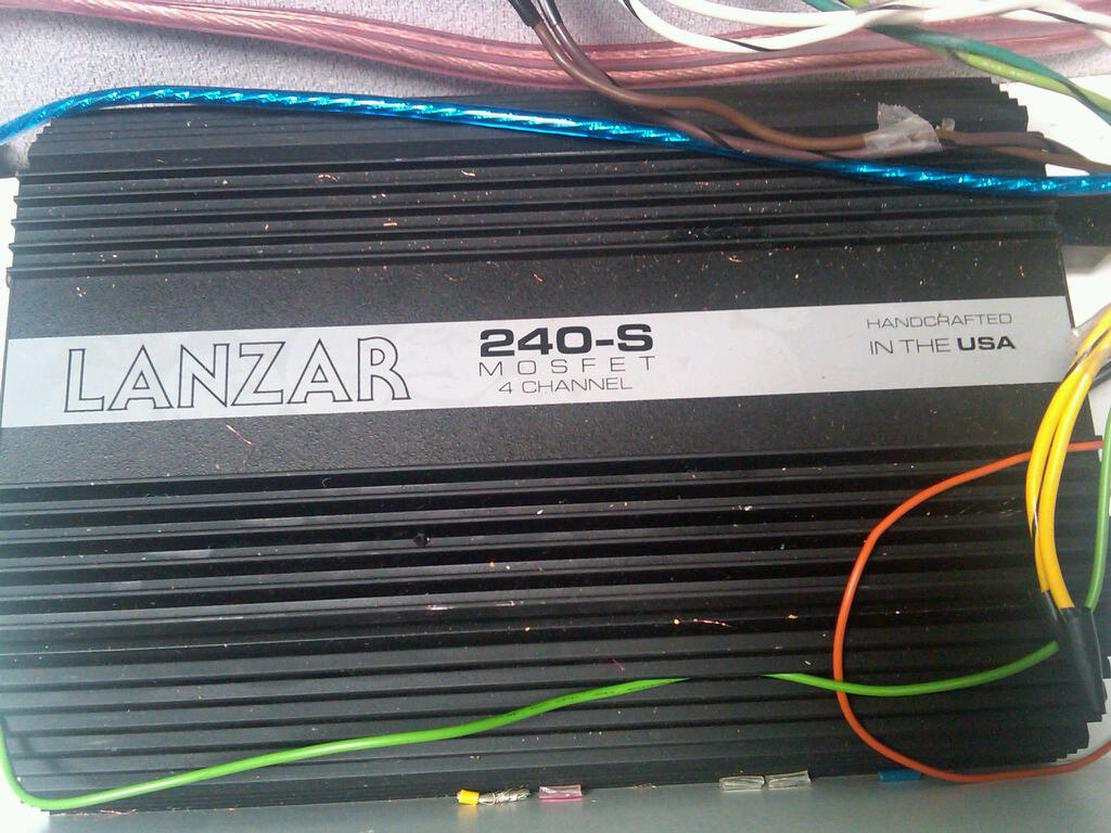 I Have A Lanzar 240s Old Amp From The 90s 4 Channel With Wiring Diagram Tried To Send All Pics Last Time But No Go Graphic