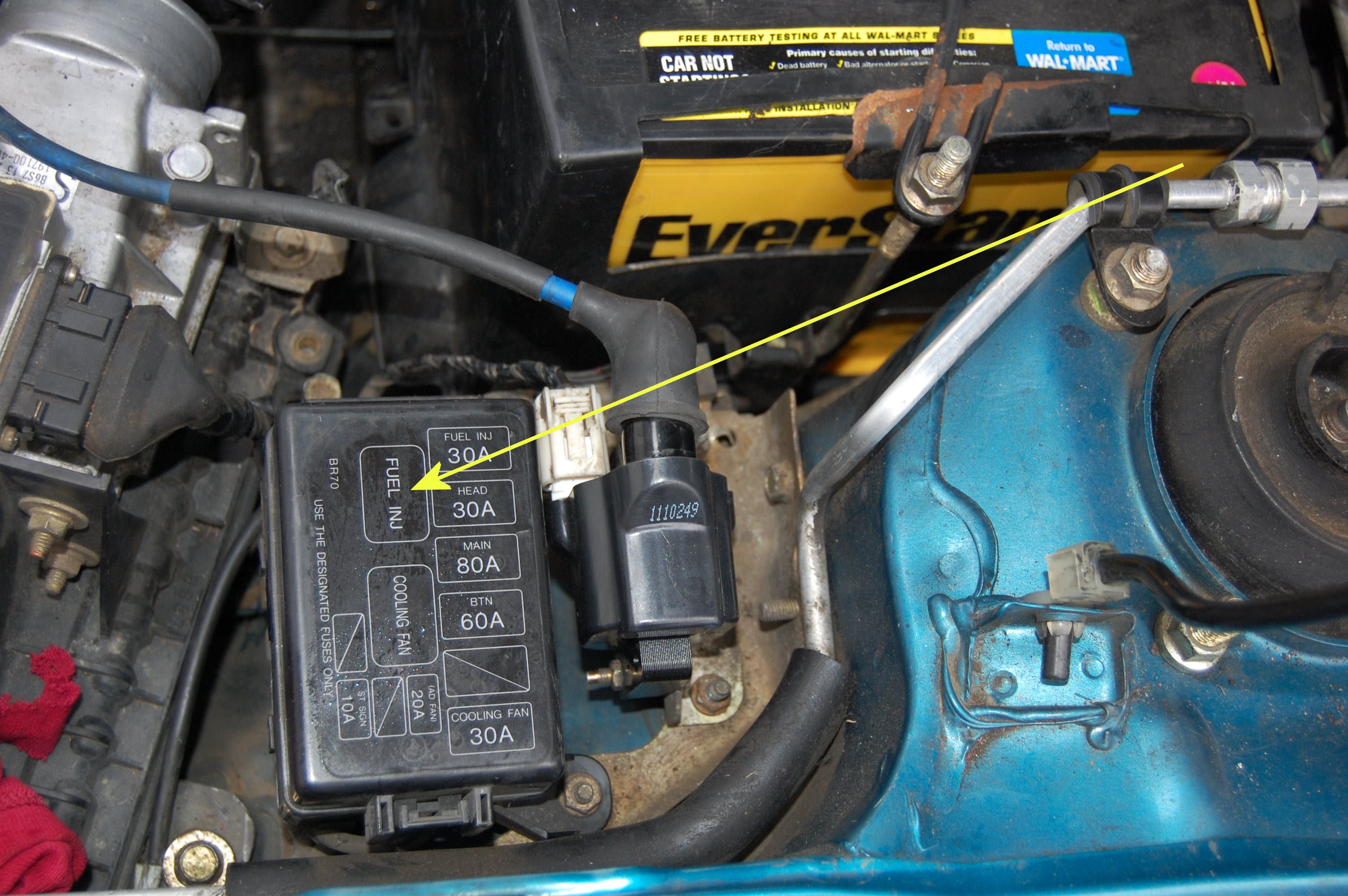 Note The Radiator Fan Motor And Relay Wiring Diagram And Info In This