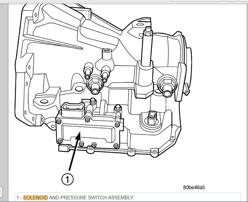 04 Chrysler Pacifica Transmission Has Code P0750 And P0700 And Is In