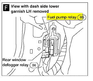 89 nissan pathfinder fuel pump wiring wiring diagram