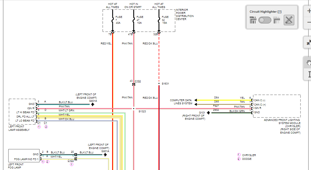 Wiring Diagram Chrysler from f01.justanswer.com