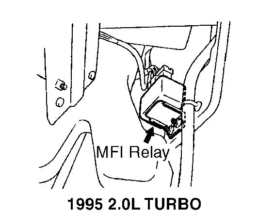 1998 Mitsubishi Eclipse Power Steering Pump