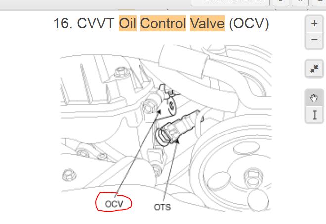 2008 kia optima engine code p0011 intake Camshaft position
