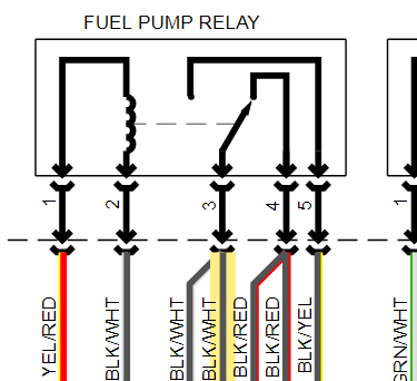 2013 Toyota Tacoma Wiring Diagram For The Motor Bay Fuse Box What Wires Go To The Fuel Pump And The Colors Also If