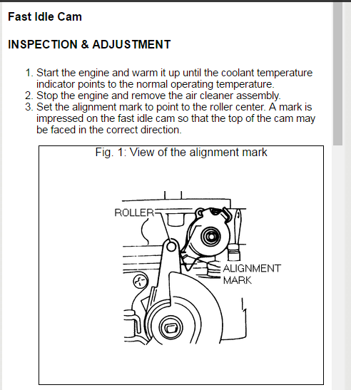 Ka24e Idle Adjustment