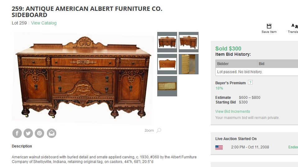 Fresh I have a a bedroom set made by Furniture Company, Shelbyville  WR02