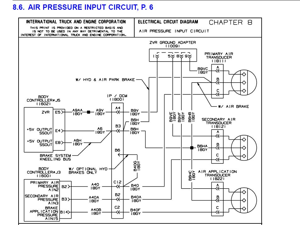 2008 International Prostar Wiring Diagram