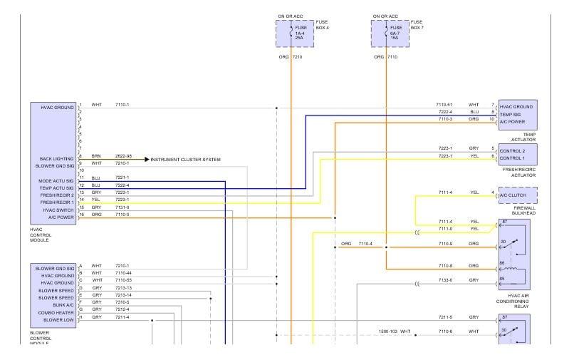 2009 Peterbilt 330 - need a/c schematics  No power to