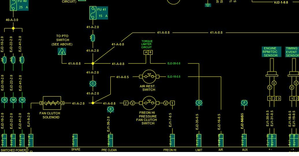 Need A Wiring Diagram For A Cv617 Mack Ac System Installing Ac On The Truck 2004 Mack Cv713 Vin 1m2ag12c65m026904