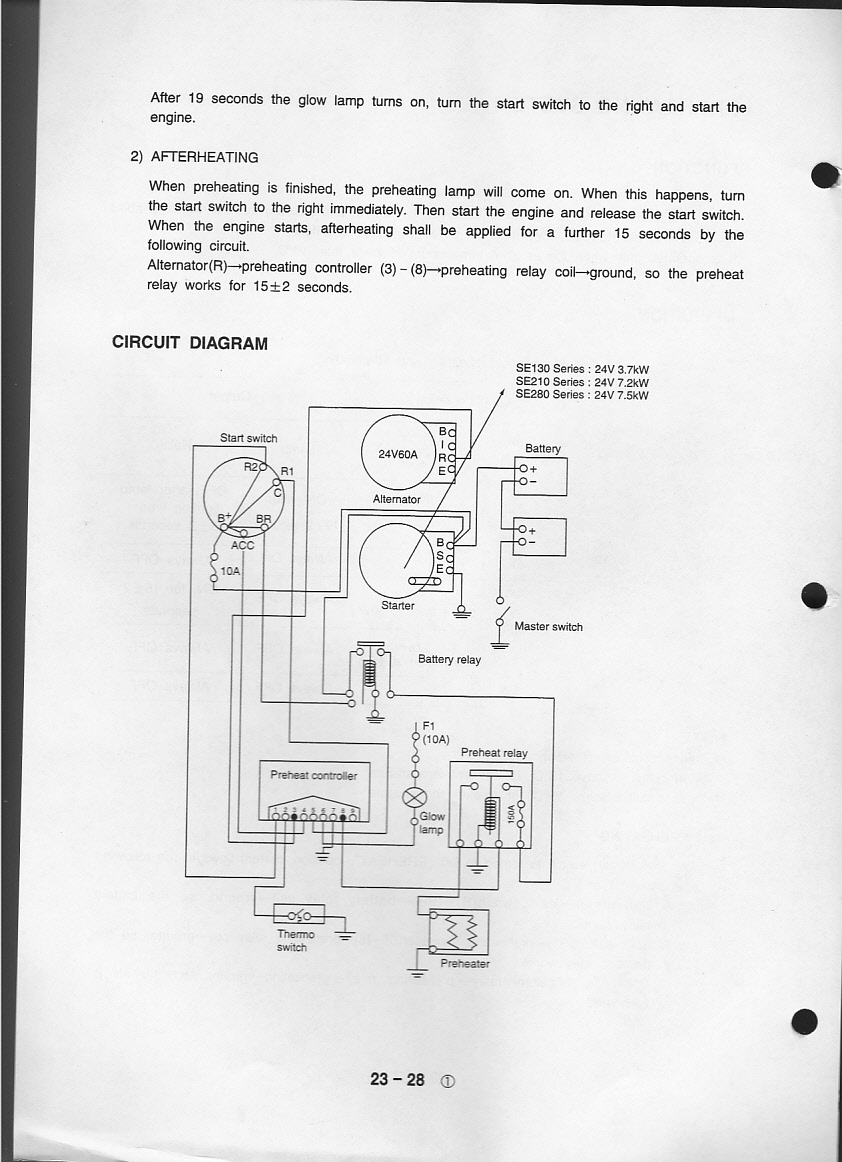 i have a samsung se 130 lc 2 excavator and ended up frying engine assembly drawing engine assembly drawing engine assembly drawing engine assembly drawing