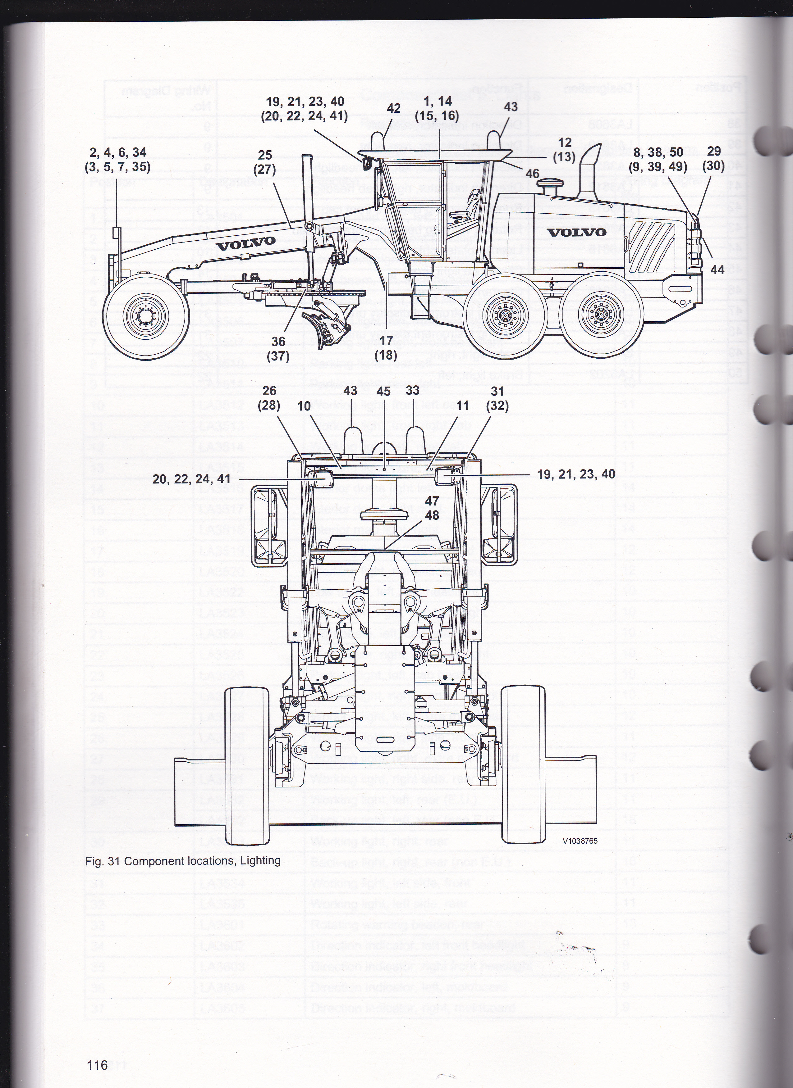 I am looking For a wiring schematic for a 940G volvo grader for the rear  work lights that are mounted in the rear grill | Volvo Roller Wiring Diagram |  | JustAnswer