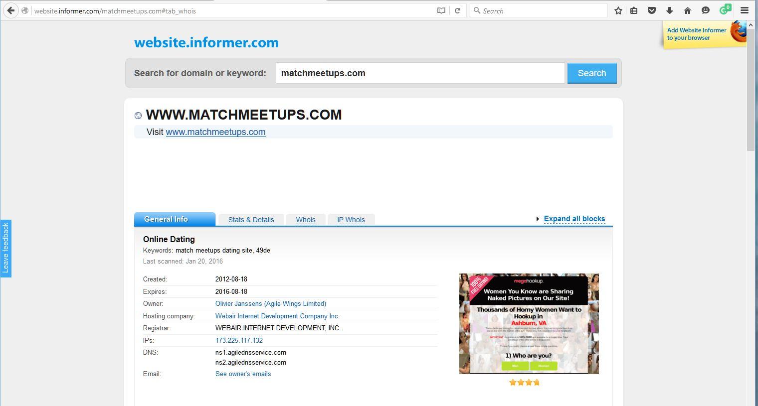 Matchmeetups Dating-Seite Er wollte haken