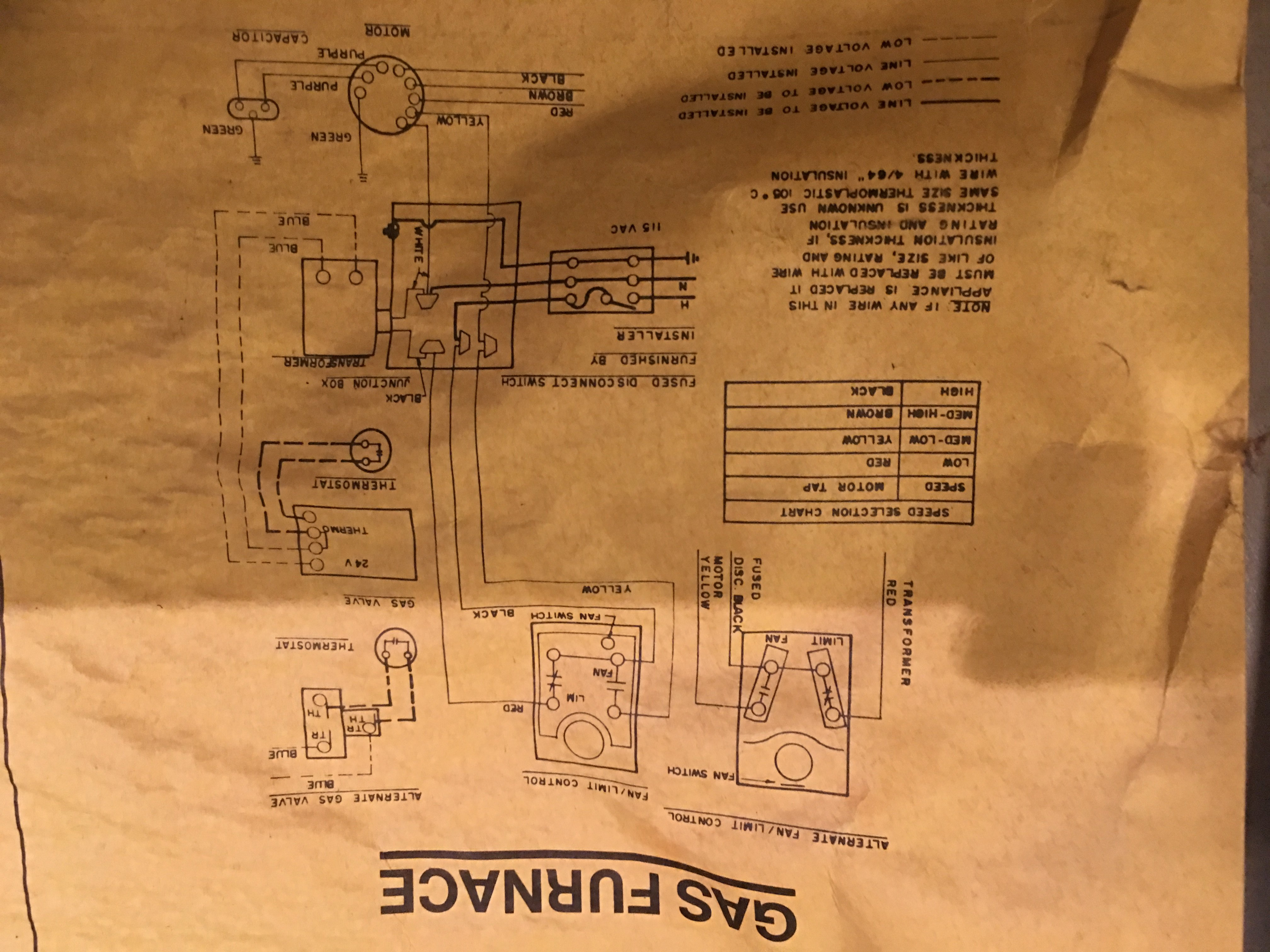 i have a lennox model g8q3 90 2 furnace that i want to hook a modernjpg furnace schematic jpg