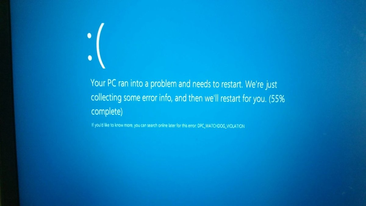 Keep encountering this blue screen error on Windows 10 Dell laptop