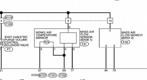 [DIAGRAM_38IS]  2013 Infiniti M37 3.5L - do you have a location diagram for the MAF sensor  and a wiring diagram with the specific IAT | Infiniti Iat Sensor Wiring Diagram |  | JustAnswer