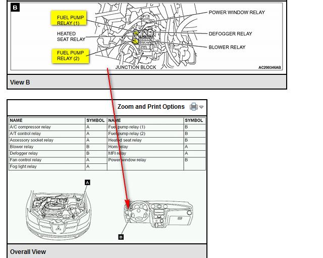 2004 Mitsubishi    Outlander    Schematics      Wiring       Diagram