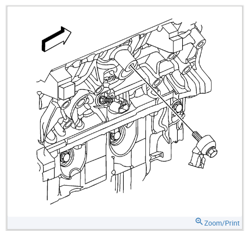 I Need To Replace The Knock Sensor In My 2008 Saturn Aura 3 5 Engine