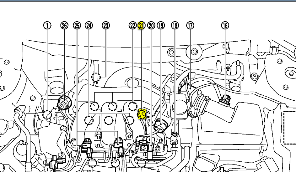 Murano 09 P0340 Camshaft position sensor problem B1 I have